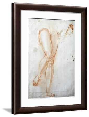 Study of Legs-Jacopo Carucci-Framed Giclee Print