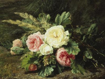 Study of Roses-Gerardina Jacoba Backhuysen-Giclee Print