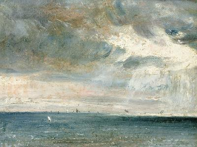 Study of Sea and Sky (A Storm Off the South Coast)-John Constable-Giclee Print