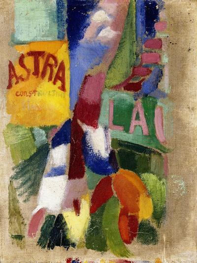 Study of the Team from Cardiff, 1907-13-Robert Delaunay-Giclee Print