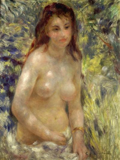 Study, Torso, Effect of Sunlight, 1875-76-Pierre-Auguste Renoir-Giclee Print