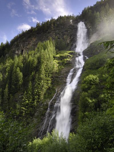 Stuibenfall, Tyrol's Highest Waterfall, Otztal Valley, Tyrol, Austria, Europe-Gary Cook-Photographic Print