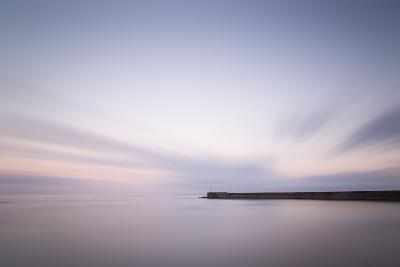 Stunning Long Exposure Landscape Lighthouse at Sunset with Calm Ocean-Veneratio-Photographic Print