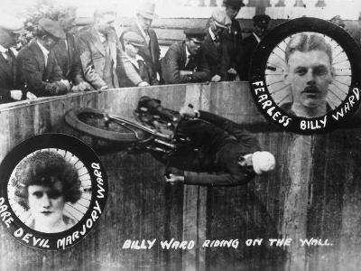 Stunt, Wall of Death--Photographic Print