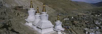 Stupa, Buddhist Stupas, Tibet--Photographic Print