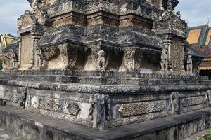 Stupa, Silver Pagoda, Phnom Penh, Cambodia, 19th Century