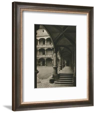 'Stuttgart. In the yard of the old castle', 1931-Kurt Hielscher-Framed Photographic Print