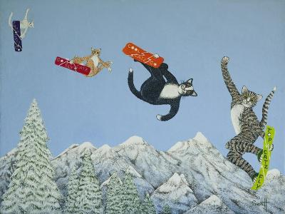 Style and Ability-Pat Scott-Giclee Print