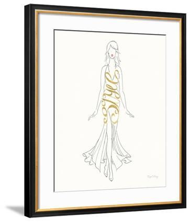 Stylish Sayings I-Elyse DeNeige-Framed Art Print