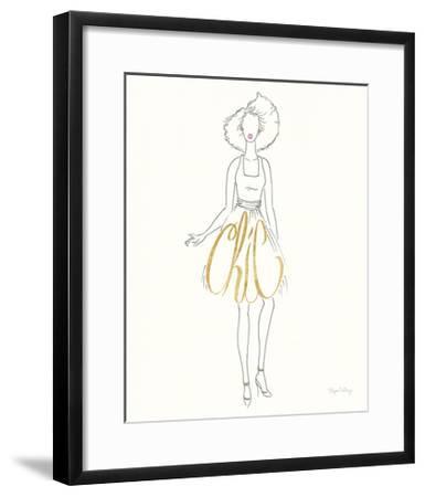 Stylish Sayings II-Elyse DeNeige-Framed Art Print