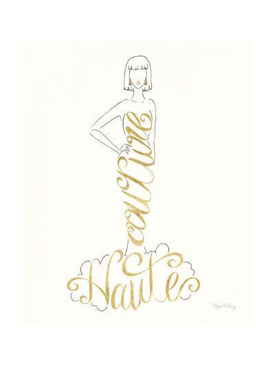 Stylish Sayings IV-Elyse DeNeige-Art Print
