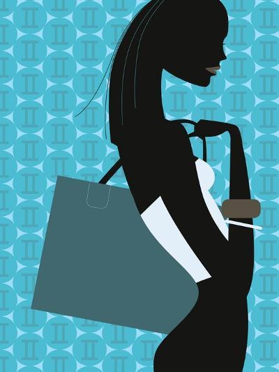 Stylish Woman--Giclee Print