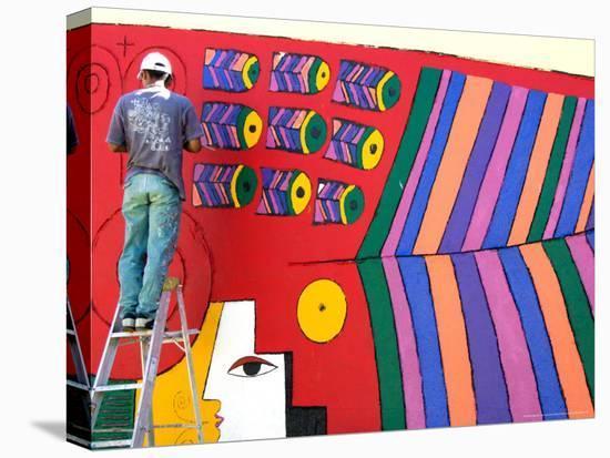 Stylized Llort Artwork Painted on Gallery Wall, Fernando Llort Gallery, San  Salvador, El Salvador Photographic Print by Cindy Miller Hopkins | Art com