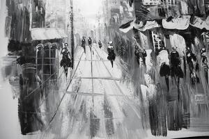 Black and White Paintings by Stylone