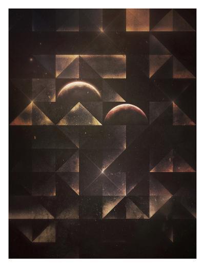 styr byrn-Spires-Art Print