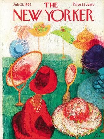 The New Yorker Cover - July 21, 1962 by Su Zeigler