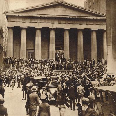 Sub-Treasury, 1929, (1938)--Photographic Print