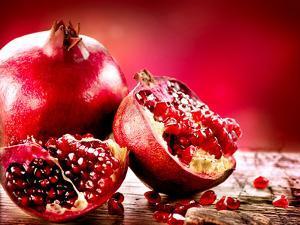 Pomegranate Fruit by Subbotina Anna