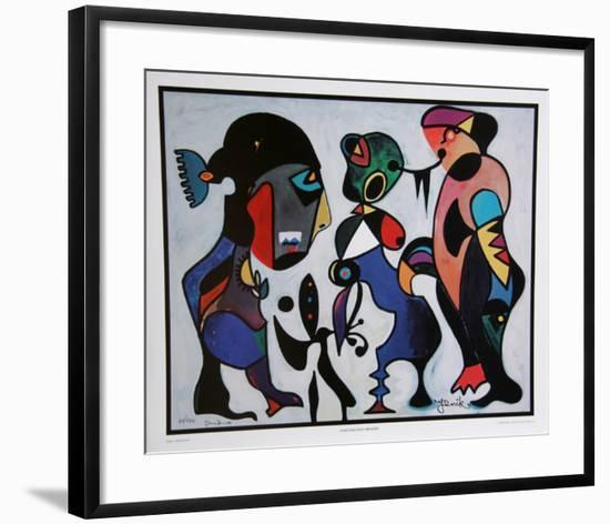Subconscious Memory-Jenik Cook-Framed Collectable Print