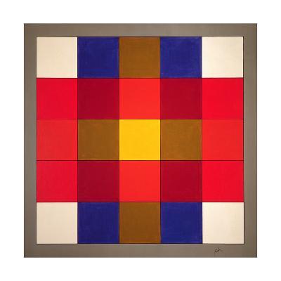 Subliminal Yellow Cross, 1986-Peter McClure-Giclee Print