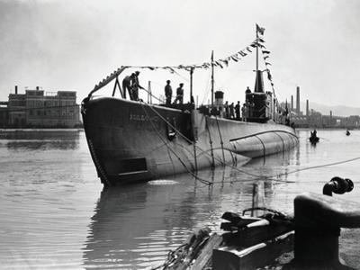 Submarine Marconi in Monfalcone, Italy, 20th Century