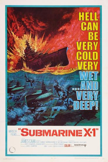 Submarine X-1, 1968--Art Print
