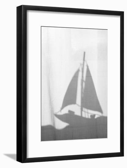 Substance, Silhouette, Sailing Ship-Nikky-Framed Photographic Print