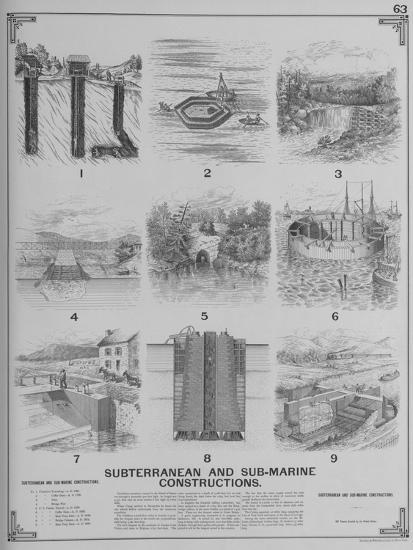 Subterranean and Sub-Marine Constructions--Giclee Print