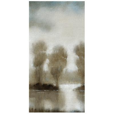 Subtle Reflection A - Free Floating Tempered Glass Panel Graphic Wall Art
