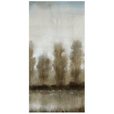 Subtle Reflection B - Free Floating Tempered Glass Panel Graphic Wall Art