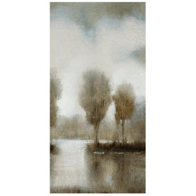 Subtle Reflection D - Free Floating Tempered Glass Panel Graphic Wall Art