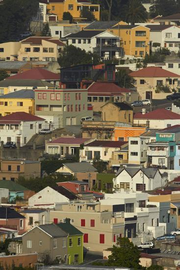 Suburb of Bo-Kaap, Cape Town, South Africa-David Wall-Photographic Print