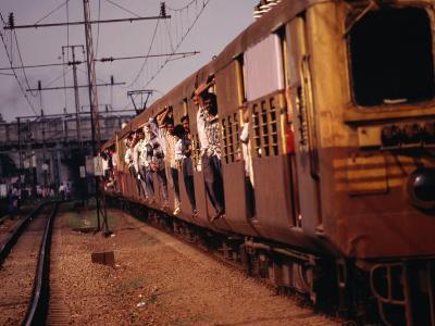 Suburban Train, Chennai, India-Eddie Gerald-Photographic Print