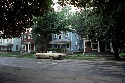 Suburbs of Richmond, Indiana, Usa, 1979-Alain Le Garsmeur-Photographic Print