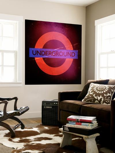 Subway and City Art - Underground London-Philippe Hugonnard-Wall Mural