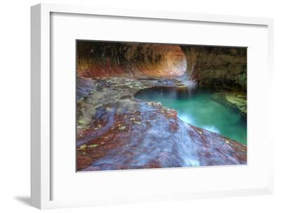 Subway Classic at Zion-Vincent James-Framed Photographic Print