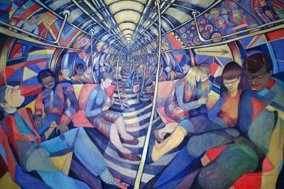 Subway NYC, 1994-Charlotte Johnson Wahl-Giclee Print