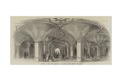 Subway of the New High-Level Station at the Crystal Palace--Giclee Print