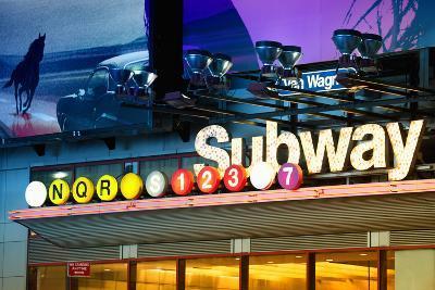 Subway Stations - Manhattan - New York City - United States-Philippe Hugonnard-Photographic Print