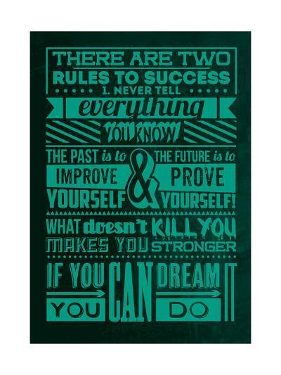 Success Set Green-Lorand Okos-Art Print