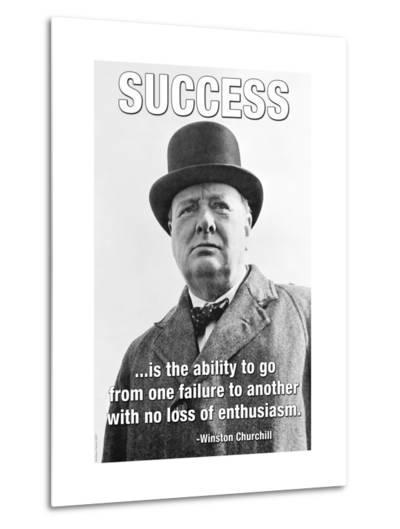 Success--Metal Print