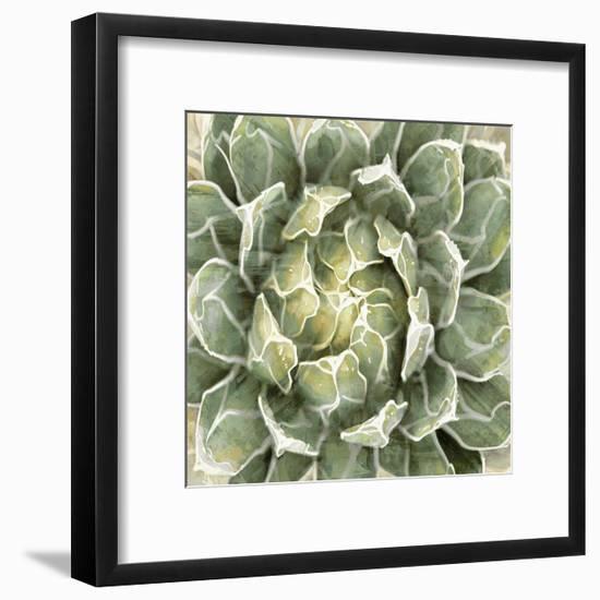 Succulent Verde III-Lindsay Benson-Framed Giclee Print