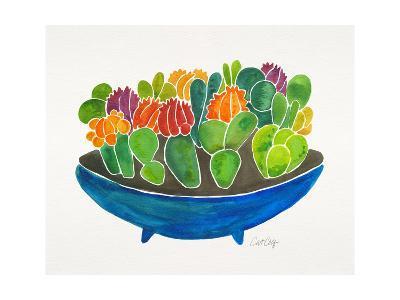 Succulents-Cat Coquillette-Giclee Print