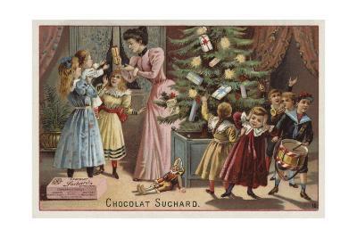 Suchard Chocolates at Christmas--Giclee Print
