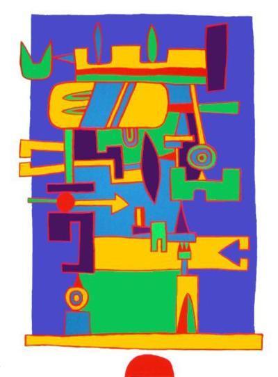Sud-Jacques Soisson-Serigraph