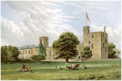 Sudeley Castle, Gloucestershire, Home of the Dent Family, C1880-Benjamin Fawcett-Giclee Print