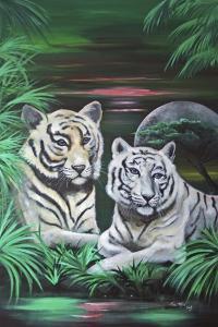 Fantasy Tigers by Sue Clyne