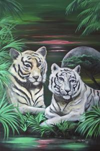 Fantasy Tigers by Sue Clyne