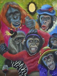 Monkey Selfies by Sue Clyne