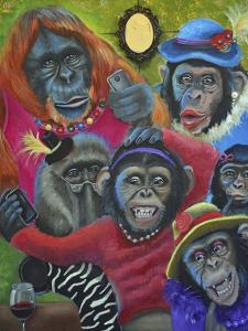 Monkey Selfies by Sue Clyne